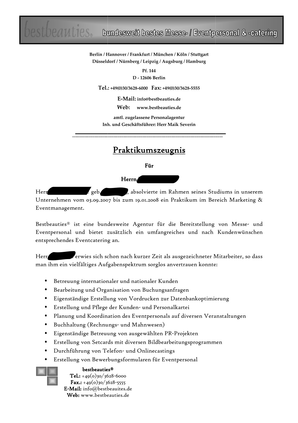 Praktikumszeugnis bestbeauties 1