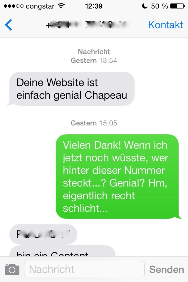 SMS-Lob