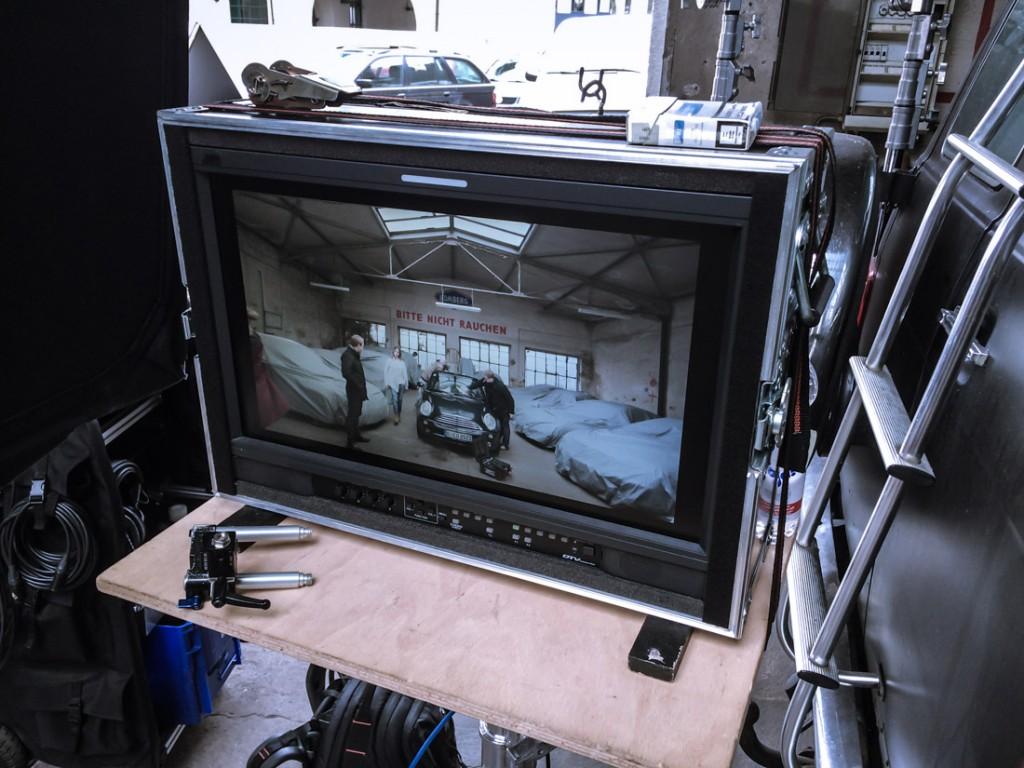 Dreharbeiten Tv-Spot 6