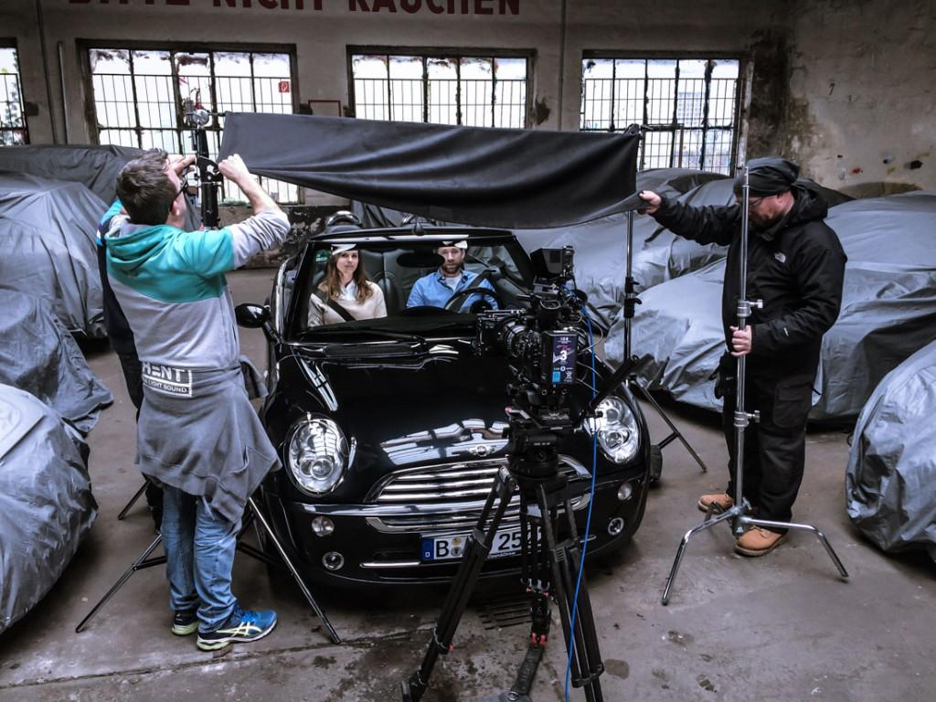 Dreharbeiten Tv-Spot 4