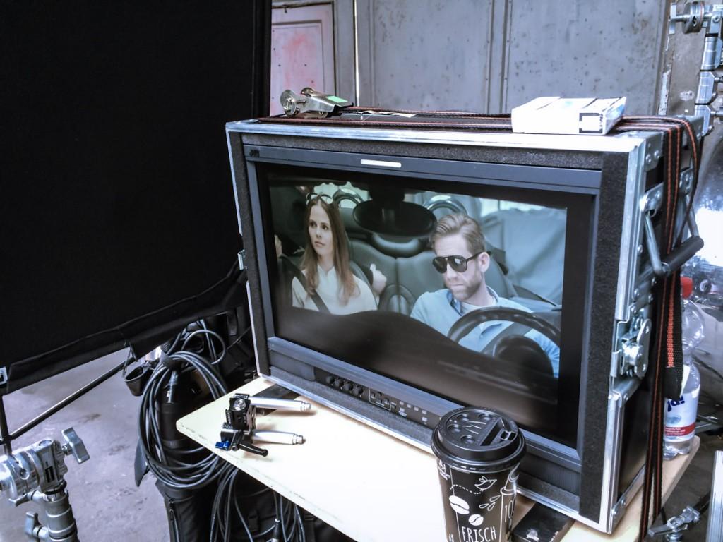 Dreharbeiten Tv-Spot 2