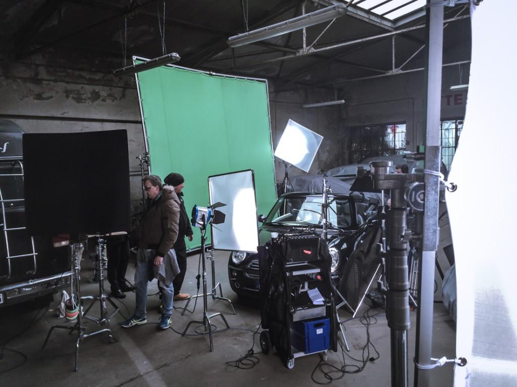 Dreharbeiten Tv-Spot 1